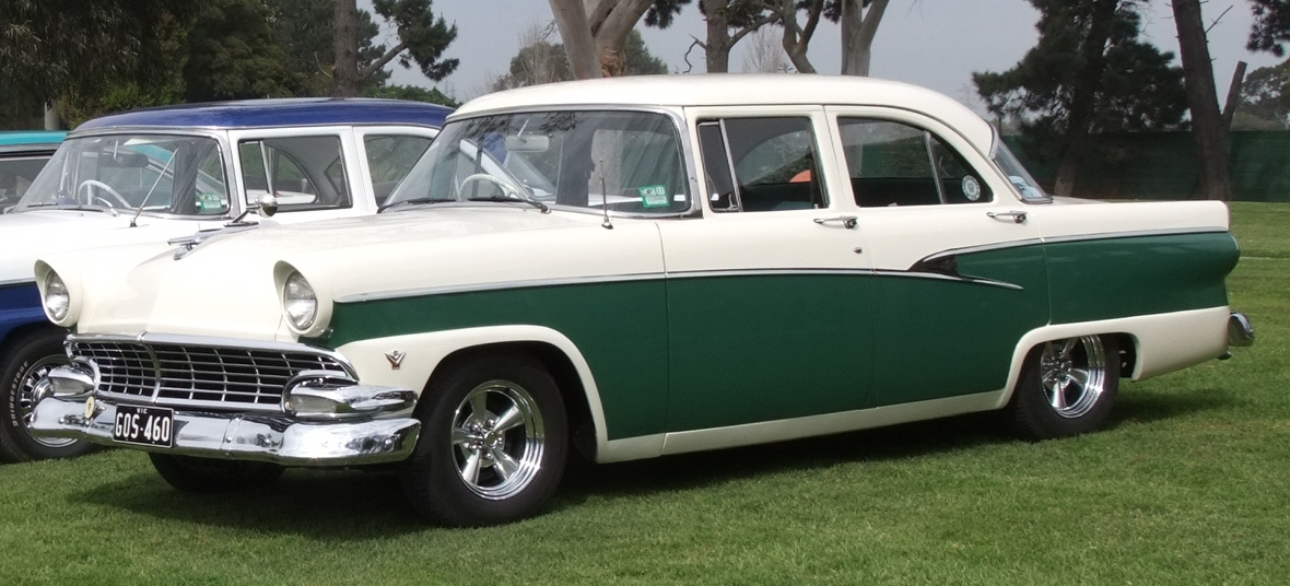 Ford Customline Rob Brereton 56 Sedan