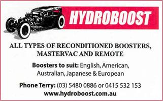 Hydroboost Single Card
