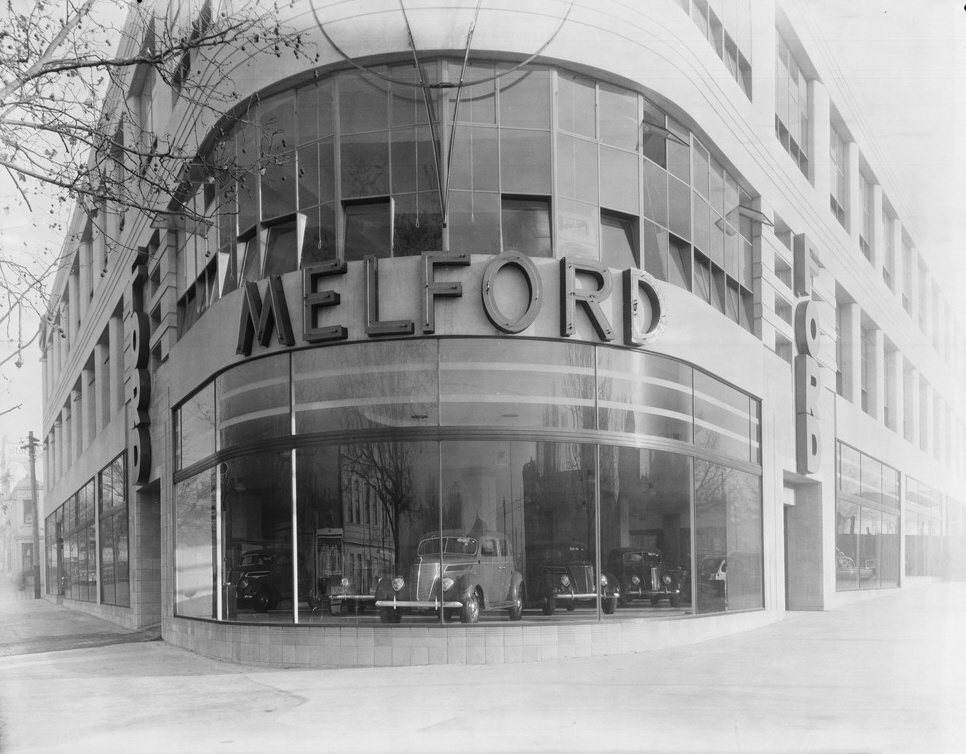 Melford Motors Showroom